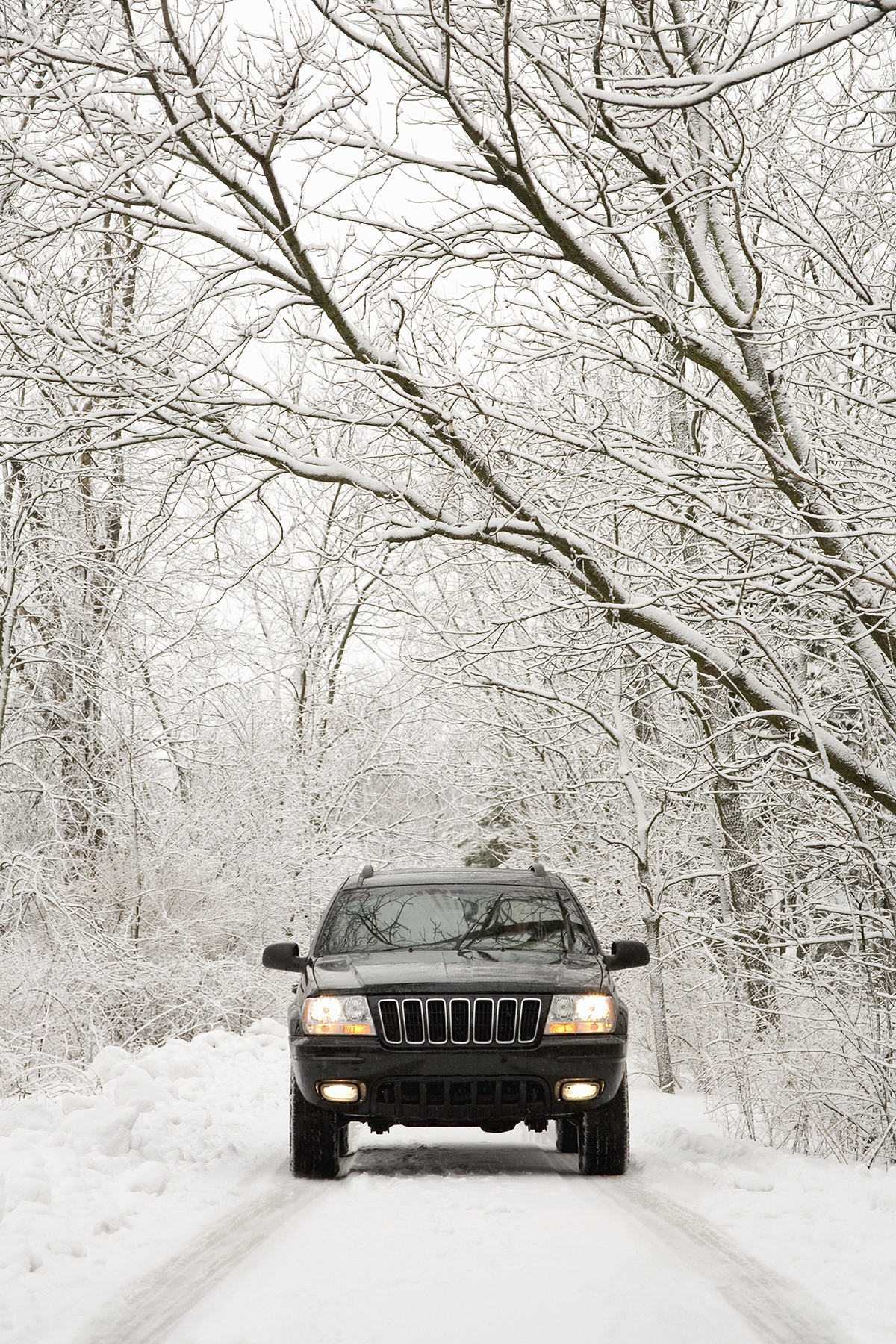 safe driving tips for bad weather - real simple