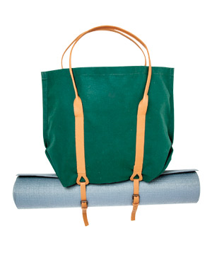 Mimot Studio folding canvas tote