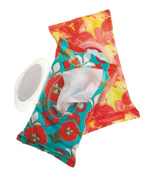 Pacifica Hand & Body Lotion Wipes