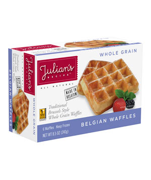 Julian's Recipe Whole Grain Brussels-Style Belgian Waffles