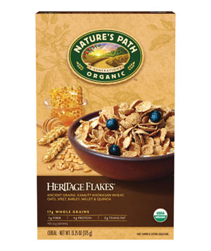 Natures Path Organic Heritage Flakes Foods