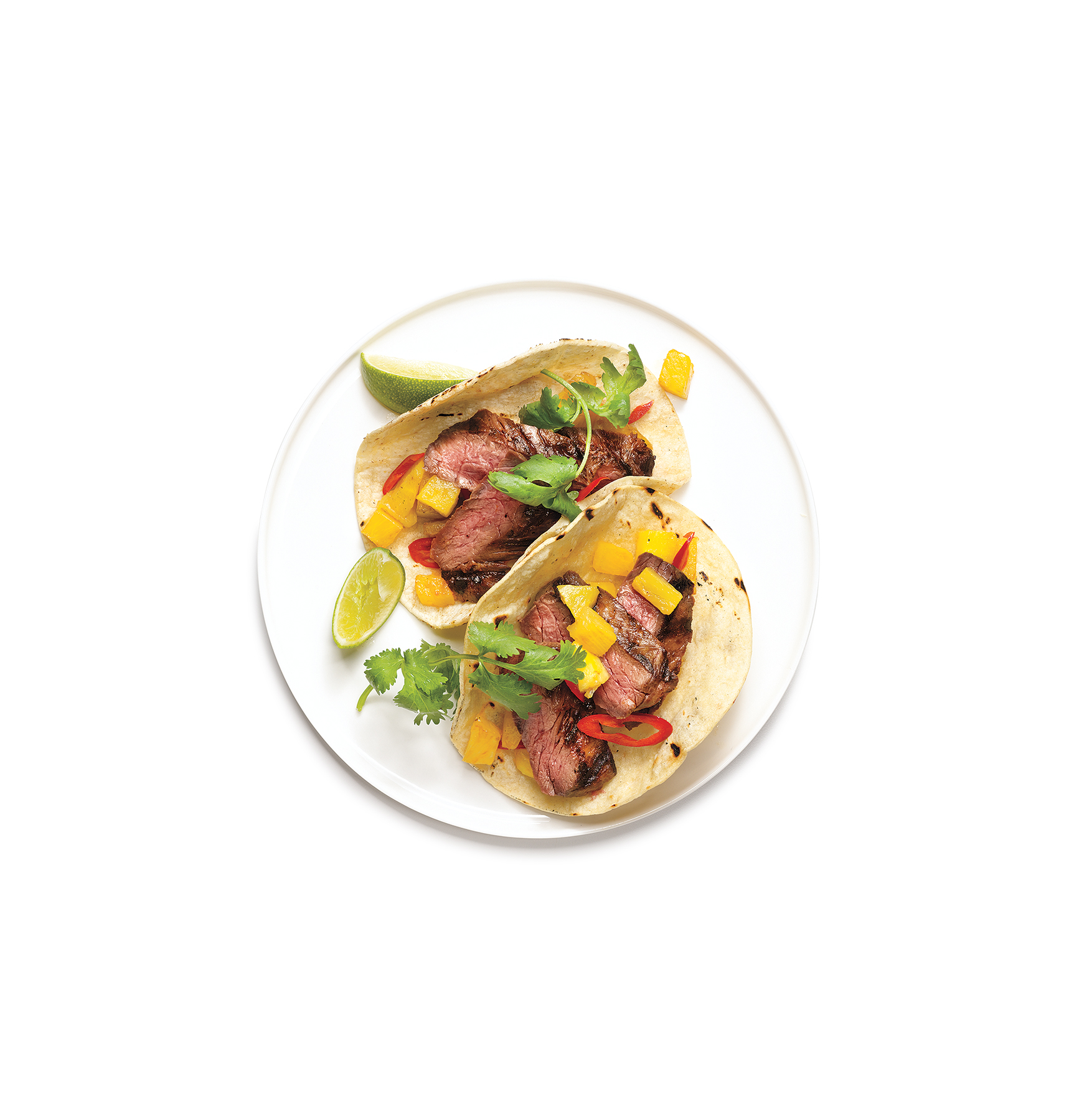 Beef and Pineapple Tacos