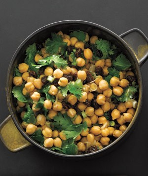 Chickpea and Raisin Salad