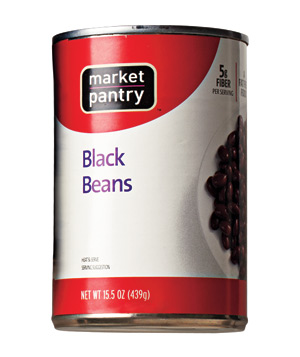 Market Pantry Black Beans
