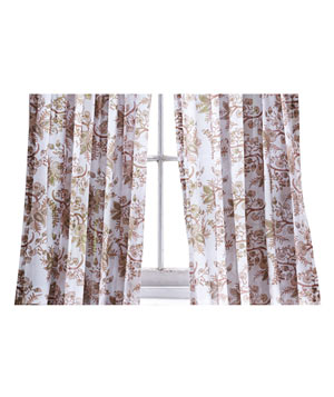 Periwinkle Curtain