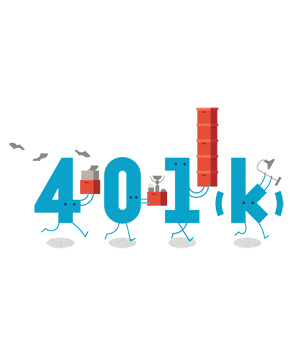 401k illustration