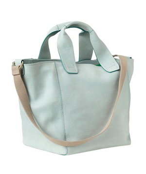 Gap Crossbody Leather Tote