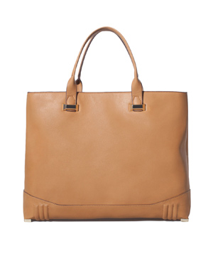 Zara Shopping Bag with Metallic Appliques
