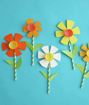 Easy easter crafts for kids real simple how to make paper daffodils mightylinksfo