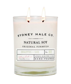 Eucalyptus and Sage Candle