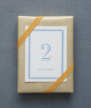 2nd Anniversary: Cotton