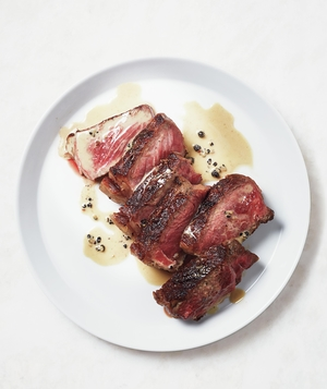 Seared Steak With Pepper Sauce