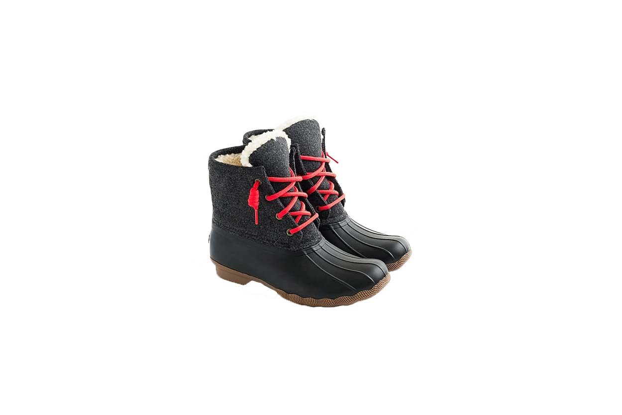Sperry for J.Crew Shearwater Boots