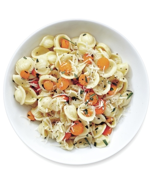 Orecchiette With Rosemary Carrots