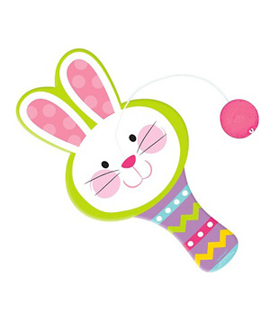10 cute easter gifts for kids real simple easter bunny paddle ball negle Choice Image