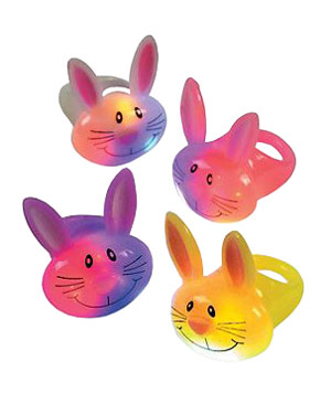 Light Up Bunny Rings