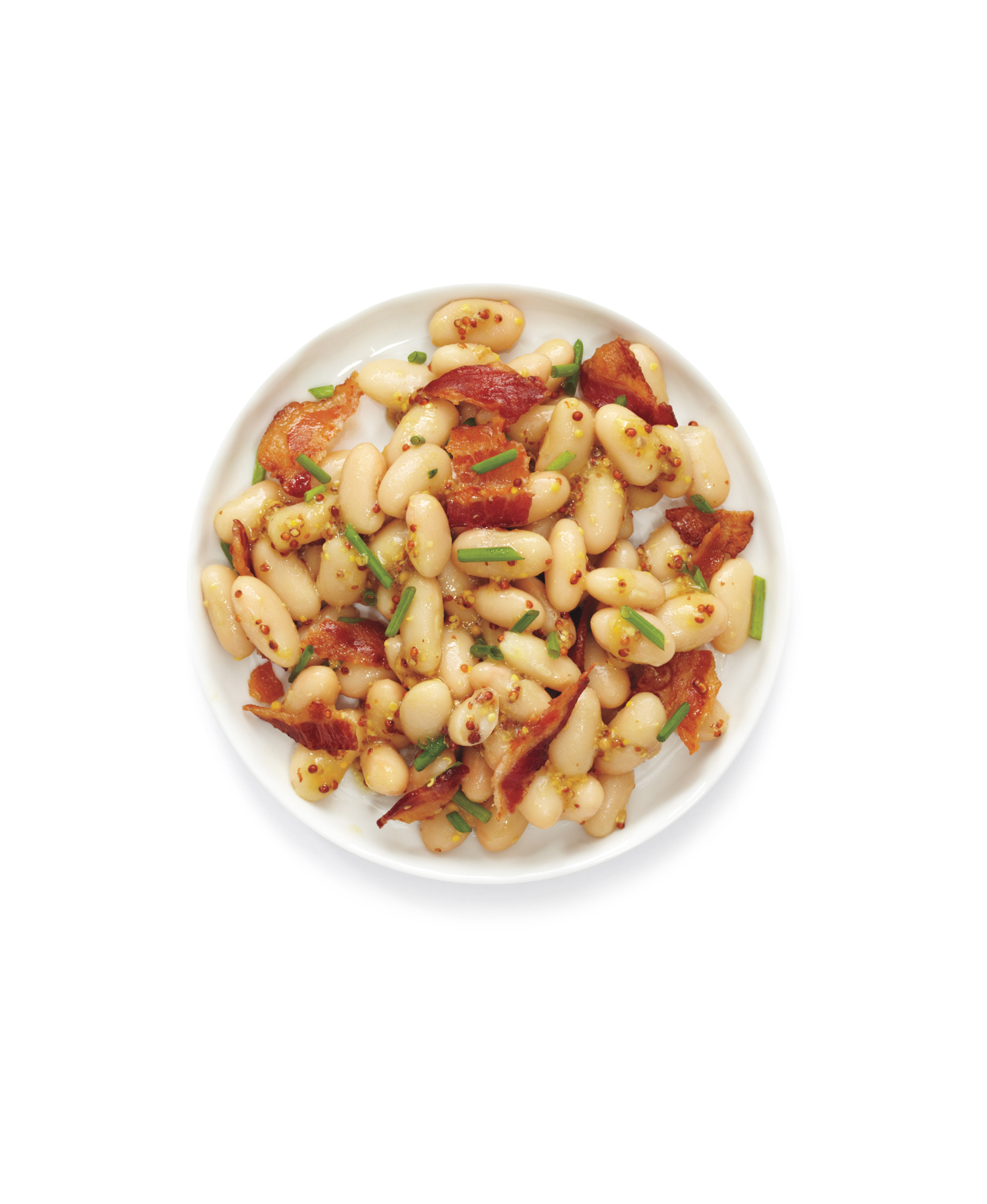 18 easy high protein recipes real simple 18 easy high protein recipes bean salad with bacon and chives forumfinder Images