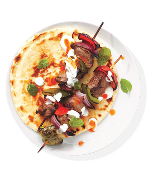 Spiced Beef Kebabs With Yogurt