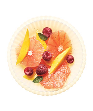 Grapefruit Salad With Vanilla
