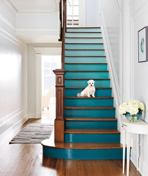 Paint Ombré Stairs