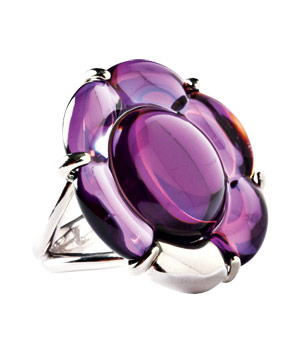 Baccarat Crystal Ring
