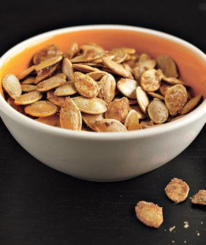 Sweet and Salty Pumpkin Seeds