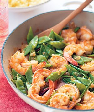 Gingery Shrimp and Couscous
