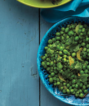 Spiced Peas With Cilantro and Lime