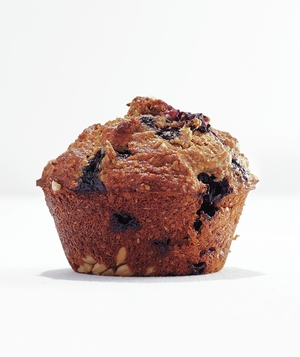 Banana-Blueberry Bran Muffin