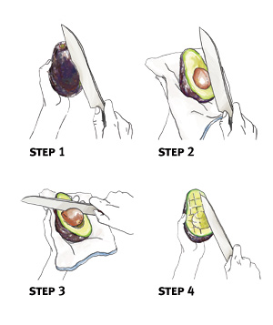 How to pit an avocado