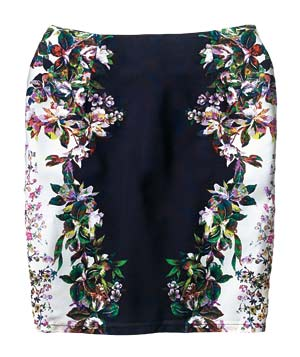 Rhyme Los Angeles Polyester Skirt