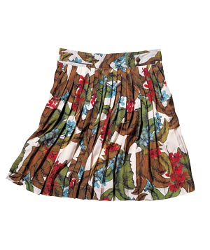 Darling Clothes Viscose-Blend Skirt