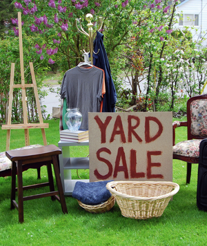 the ultimate garage sale planning guide real simple