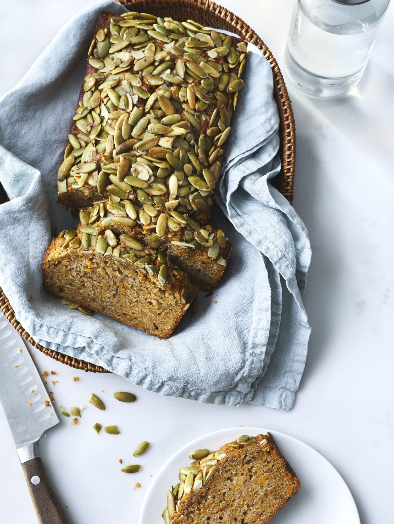 Seeded Miso Sweet Potato Bread