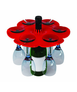 Bottle Bouquet Wine Glass Holder