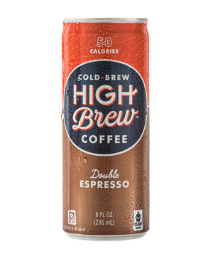 High Brew Coffee Double Espresso