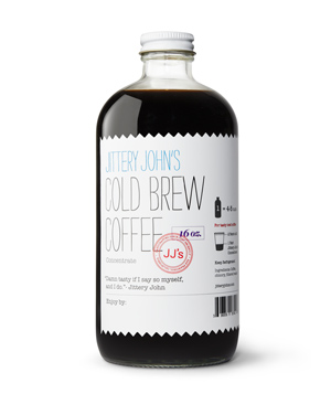 Jittery John's Cold Brew Coffee Concentrate