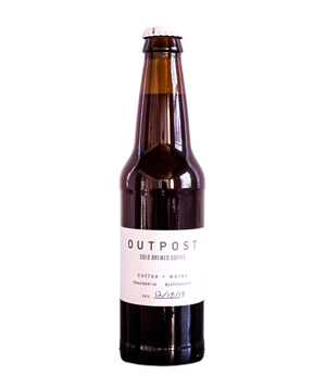 Outpost Cold brewed Coffee