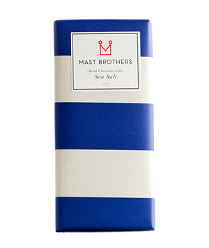 Mast Brothers Sea Salt Chocolate Bar