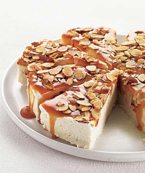Caramel-Almond Ice Cream Torte