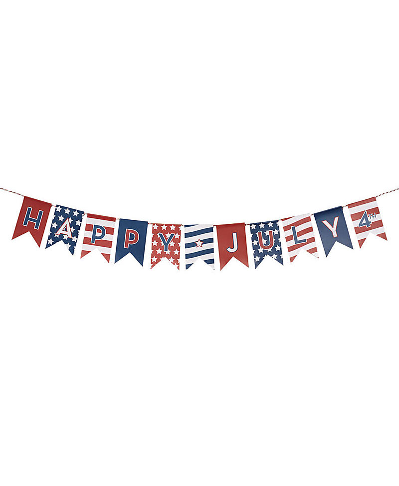 <p>July 4th Garland</p>