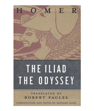 The Iliad/The Odyssey, by Homer