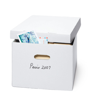 Archival-Storage File Boxes