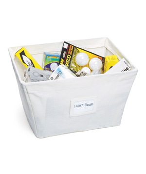 Open Canvas Bins