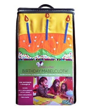 Mabel & Mabel Birthday Tablecloth