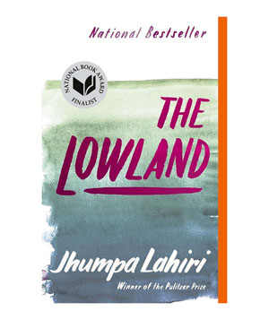 The Lowland, by Jhumpa Lahiri - paperback