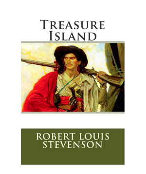 Treasure Island, by Robert Louis Stevenson