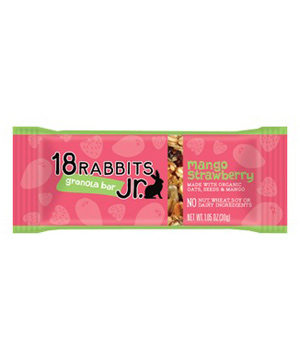 18 Rabbits Jr. Mango Strawberry Granola Bar