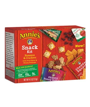 Annie's Organic Hummus & Crackers Snack Kit