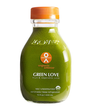 Organic Avenue Go Green Cleanse